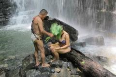 Don Luis bei einer rituellen Reinigung