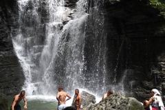 Der heilige Wasserfall
