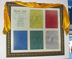 Gruss von Dalai Lama an João de Deus